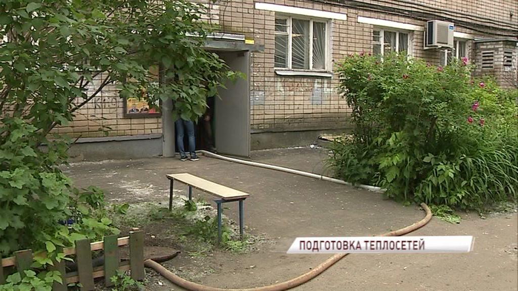 Дома в Ярославле активно готовят к зиме