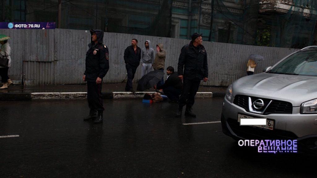 В Ярославле под колесами машины пострадал пешеход