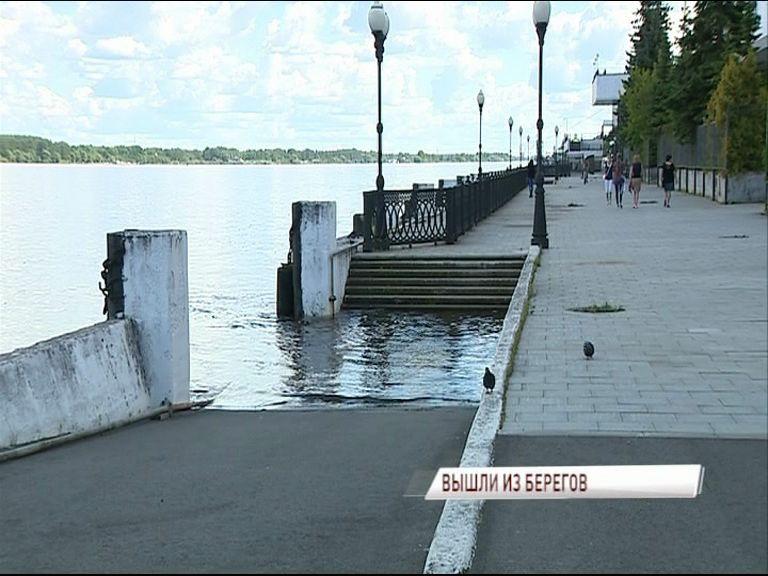 Из-за сброса на Рыбинской ГЭС в Ярославле началось подтопление