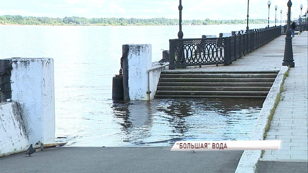 Сброс воды с Рыбинской ГЭС: какие участки подтопит