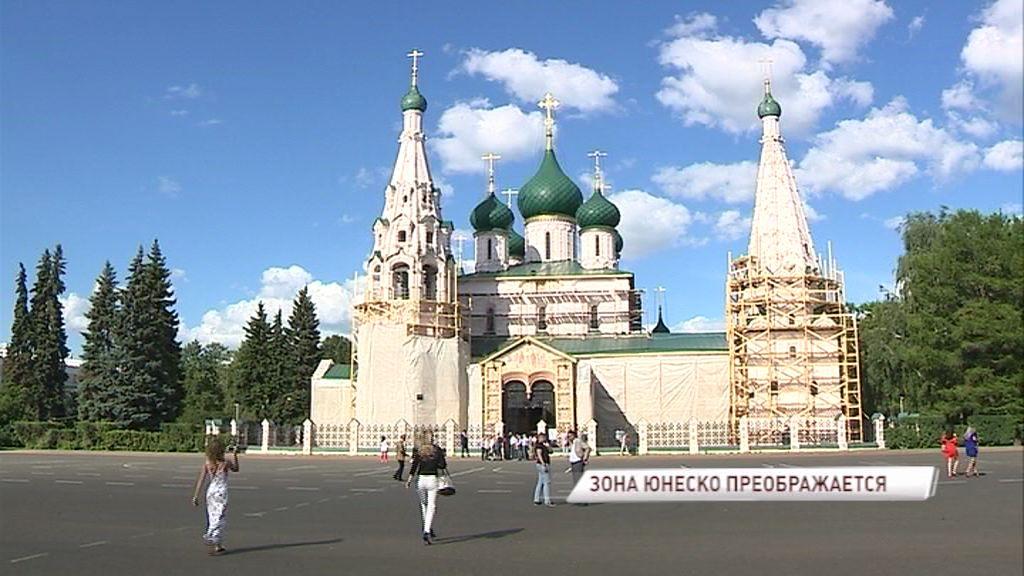 Готов первый объект реконструкции зоны ЮНЕСКО в Ярославле