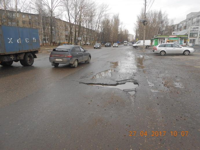 Суд обяжет мэрию отремонтировать дорогу во Фрунзенском районе