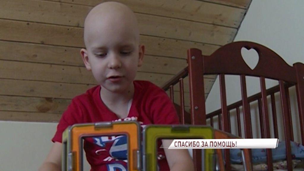 7-летнего Максима Ананьева успешно прооперировали врачи из Германии