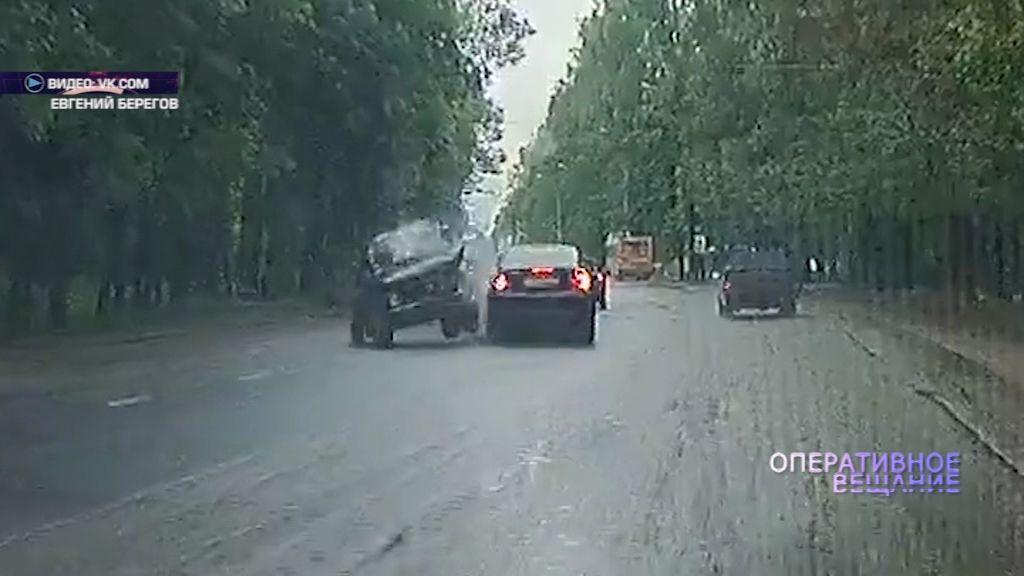 Выезд на встречку едва не стоил жизни водителю «Нивы»