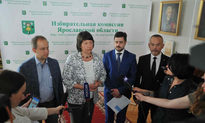 Секретарь ЦИК России Майя Гришина: «Выборы в Ярославле проходят под серьезным общественным контролем»
