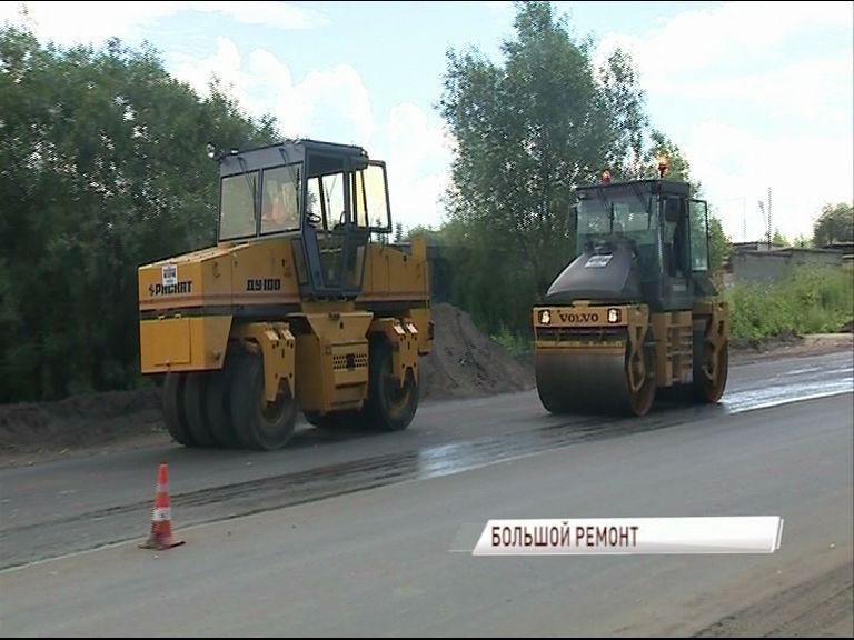 Самая разбитая: дорожники вышли на участок, соединяющий улицу Калинина и Костромское шоссе
