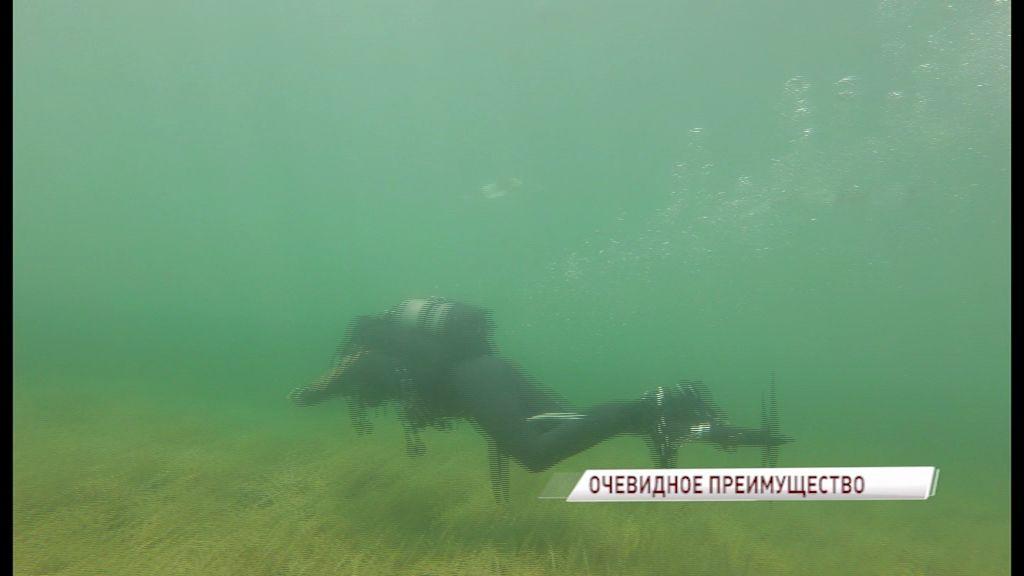 Русские дайверы с помощью «сибайка» обогнали всех на фестивале водных видов спорта
