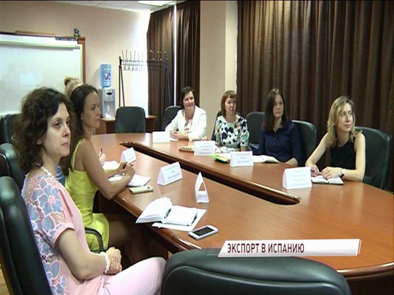 Продукция ярославских предприятий может выйти на испанский рынок