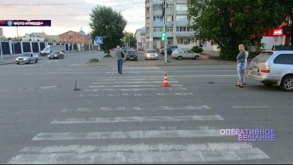 В Рыбинке 19-летняя девушка-водитель сбила пожилую женщину