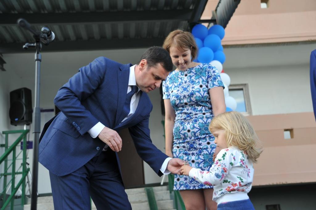 Долгожданное новоселье в Ярославле отметили обманутые дольщики