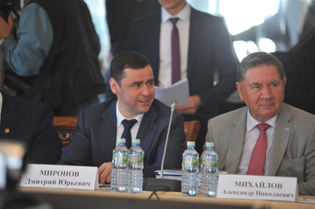 Глава региона Дмитрий Миронов предложил организовать Союз городов «Золотого кольца»