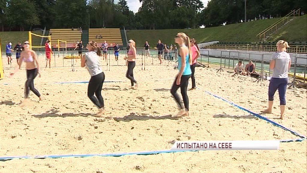 В Ярославле стартовал этап чемпионата России по пляжному волейболу