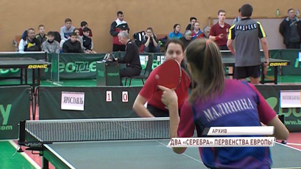 Наталья Малинина взяла две медали на первенстве Европы по настольному теннису