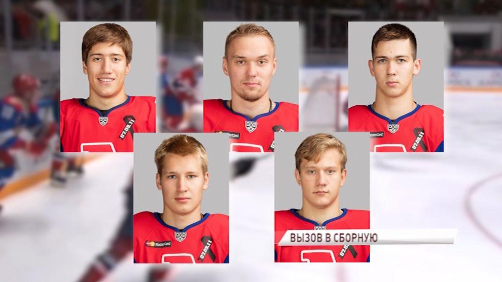 Пять хоккеистов «Локомотива» получили вызов в Олимпийскую сборную России