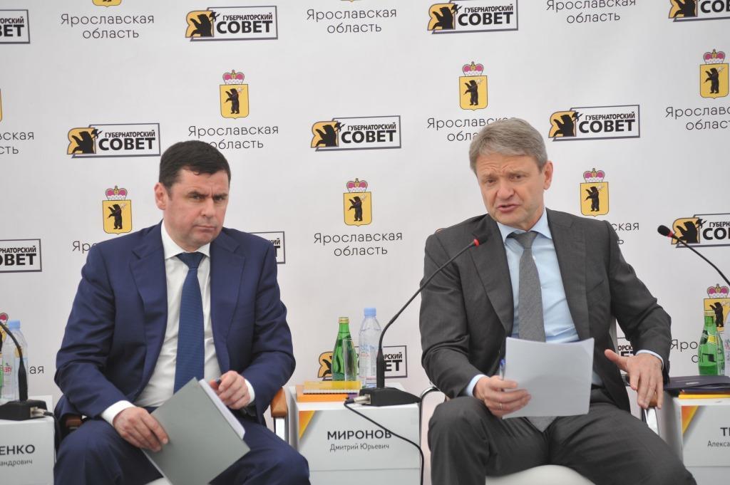 Министр сельского хозяйства РФ Александр Ткачев высоко оценил развитие АПК в Ярославской области