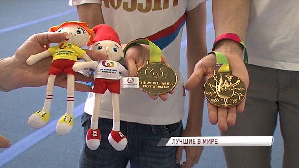 Ярославские акробатки вернулись с «золотом» со Всемирных игр в Польше