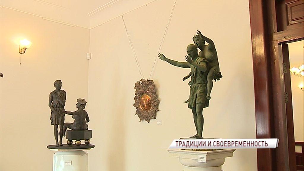 Леонид Баранов представил свою выставку скульптур «Традиции и своевременность»