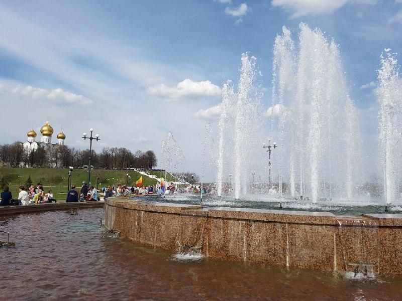 Ярославские фонтаны отключат на профилактику