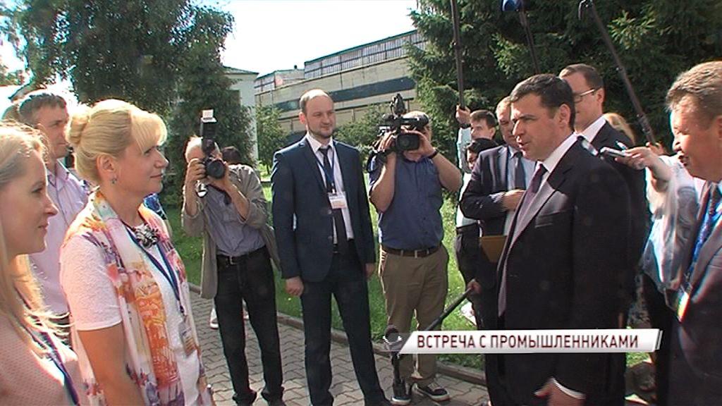 Глава региона Дмитрий Миронов обсудил насущные вопросы с руководителями крупнейших заводов области