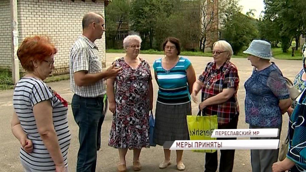 На контроле главы региона Дмитрия Миронова: жителям Горок вернулась вода