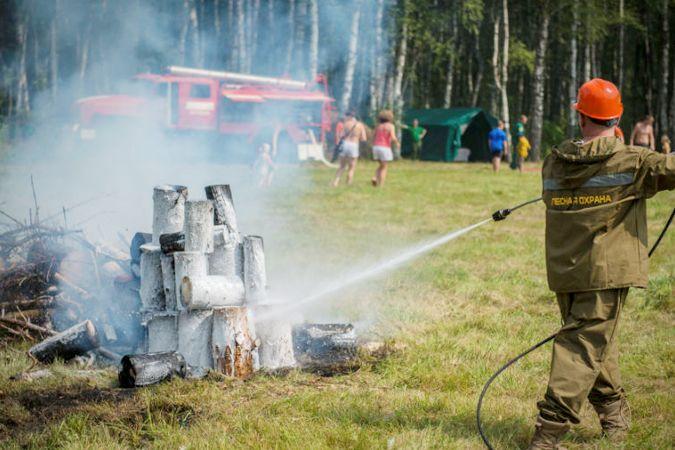 В Ярославле стартует конкурс: «Лучший лесной пожарный»