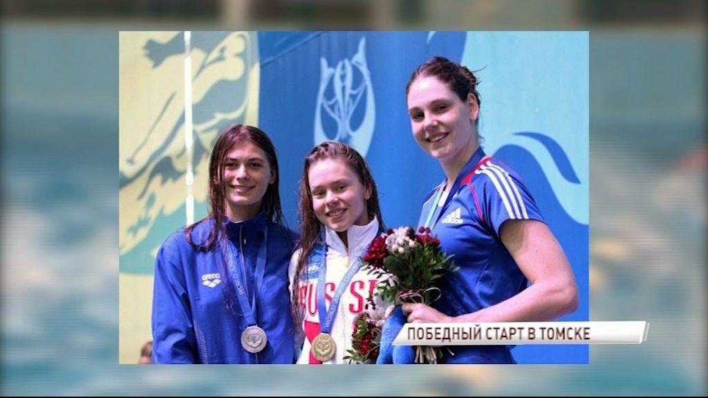 Ярославские спортсменки по плаванию в ластах завоевали две золотых медали