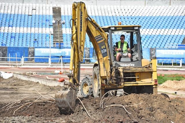 Поле на стадионе «Шинник» будет готово к концу августа