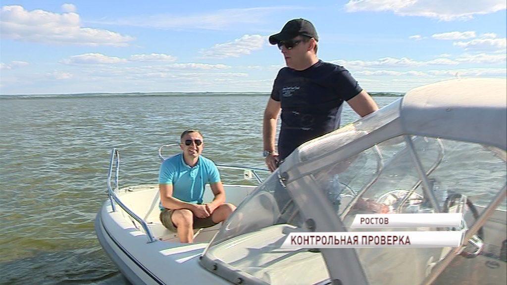 В Ростове на озере Неро прошел рейд по выявлению нарушителей режима охраняемой территории