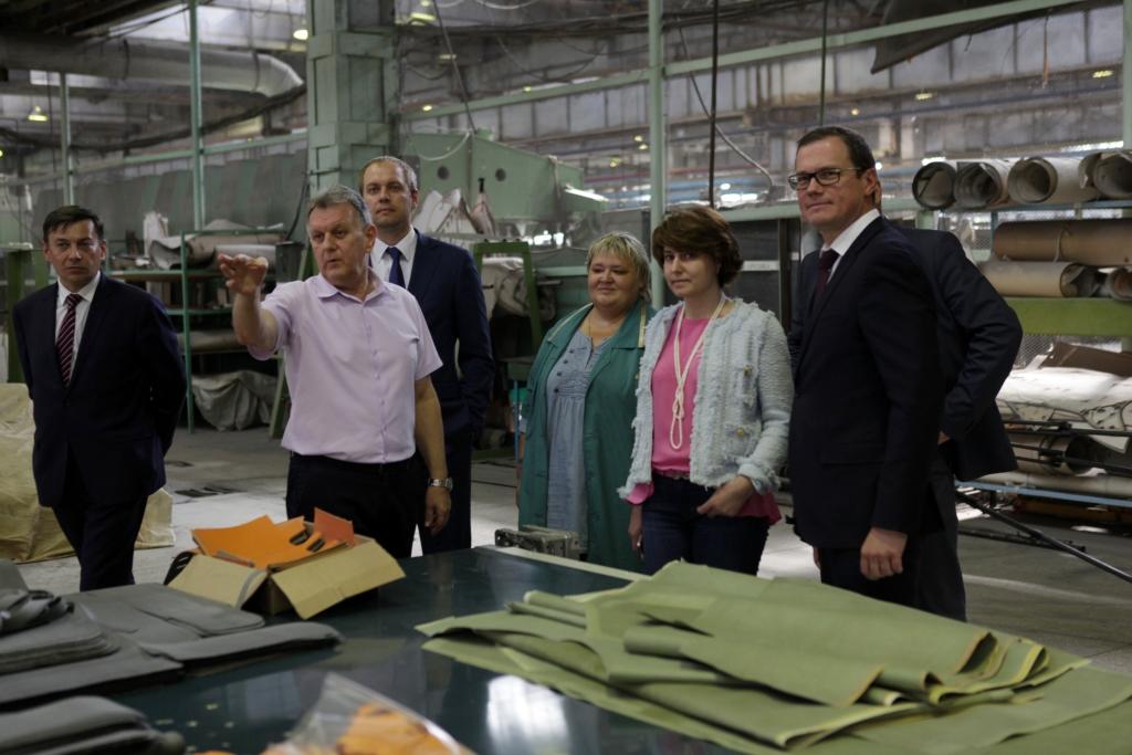 Правительство региона помогает ярославским предприятиям в вопросах развития производства