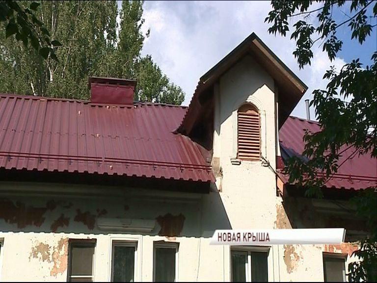 В Ярославле в поселке Прибрежный на одном из домов завершился капитальный ремонт крыши