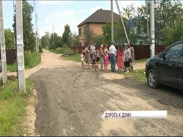 В частном секторе Фрунзенского района продолжаются работы по благоустройству дорожного покрытия