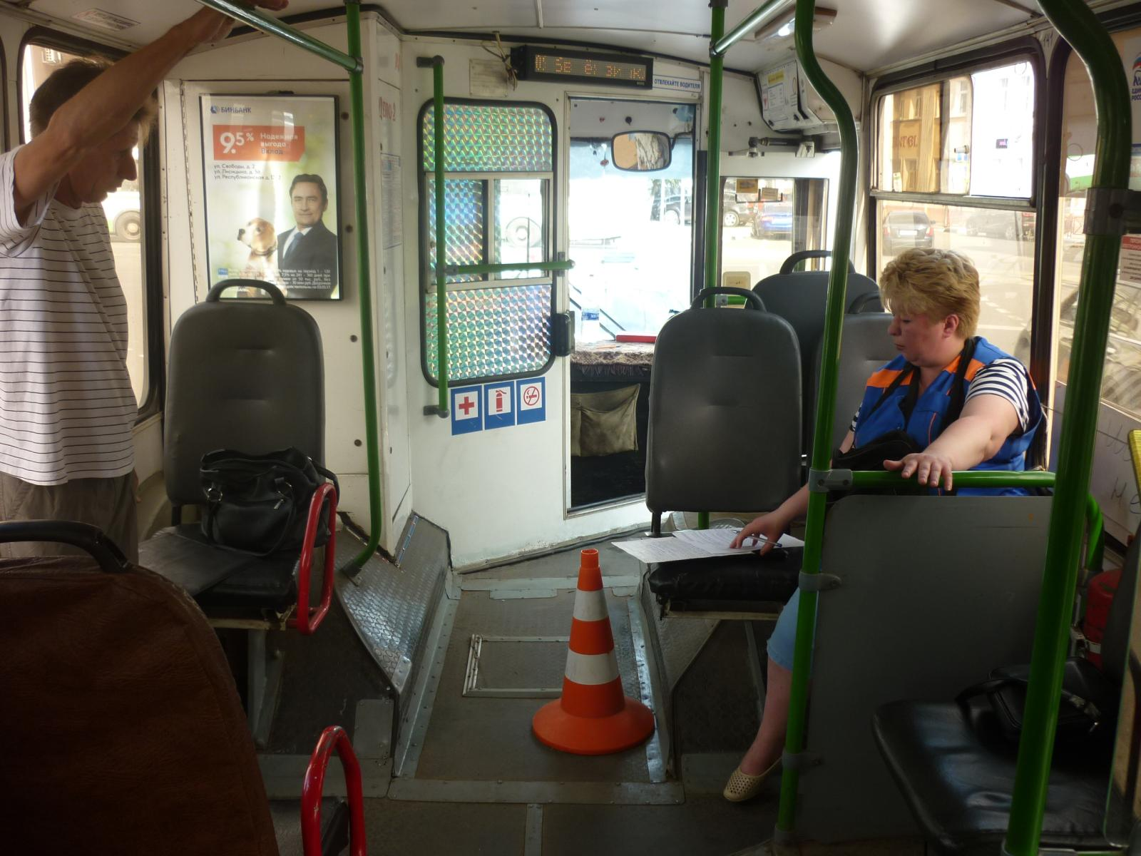 15-летняя девочка получила травму при падении в троллейбусе