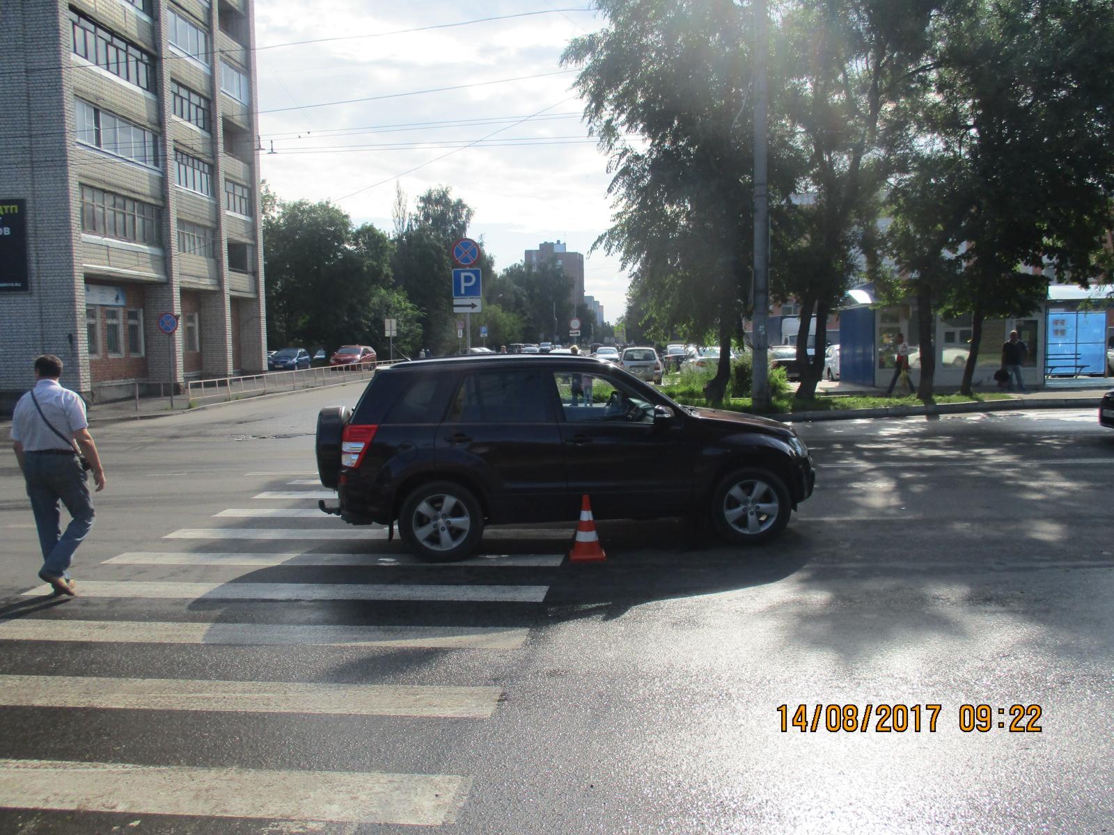 В Рыбинске семилетнего мальчика сбил водитель иномарки