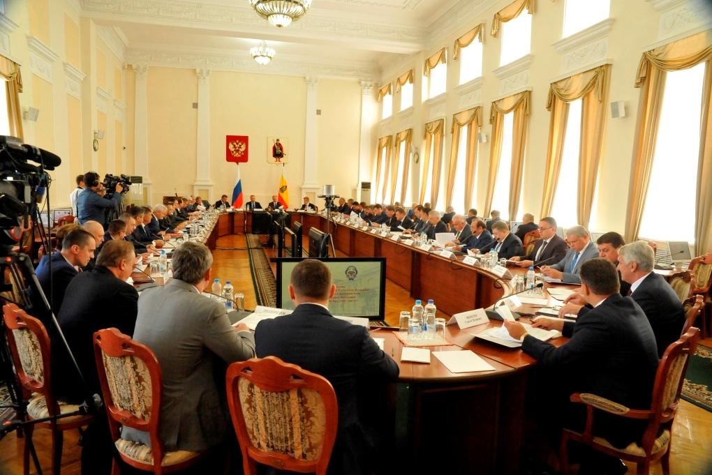 Глава региона Дмитрий Миронов на совещании в Рязани обсудил вопросы транспортной безопасности