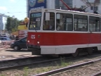 В Дзержинском районе отремонтируют трамвайные пути