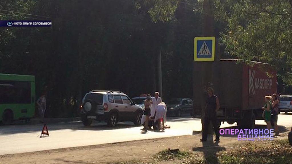 Пенсионер на «Шкоде» сбил женщину на переходе