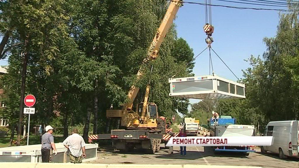 Стройка началась: Стало известно, как будет выглядеть мост через Которосль после ремонта