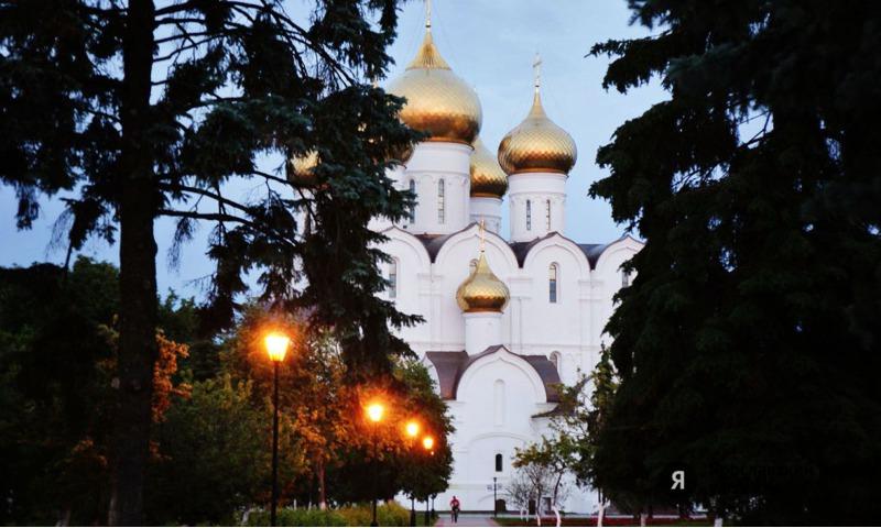 В рамках соглашения главы региона Дмитрия Миронова с мэрией Москвы территорию вокруг Успенского собора отремонтируют