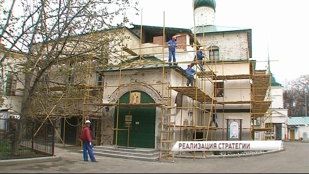 Для Кирилло-Афанасиевского монастыря в Ярославль доставили четыре купола