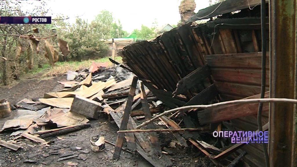 Трагедия в Ростове: в пожаре погибли мужчина и женщина