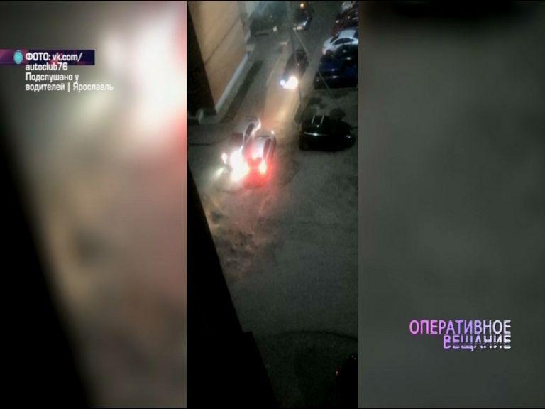 ВИДЕО: водители не поделили дорогу на 8 Марта