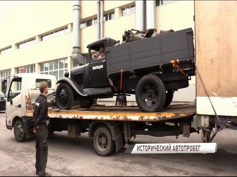 Около 100 реконструированных автомобилей времен Великой Отечественной войны проедут по Ярославлю