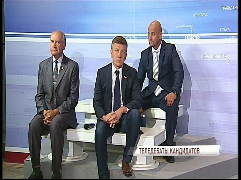 На «Первом Ярославском» прошли телевизионные дебаты кандидатов в губернаторы