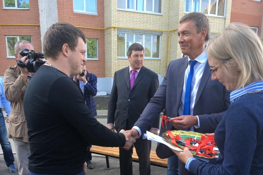 В эксплуатацию введен дом-долгострой в Дзержинском районе