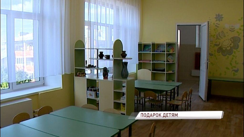 В Угличе закончен ремонт детского сада «Теремок»