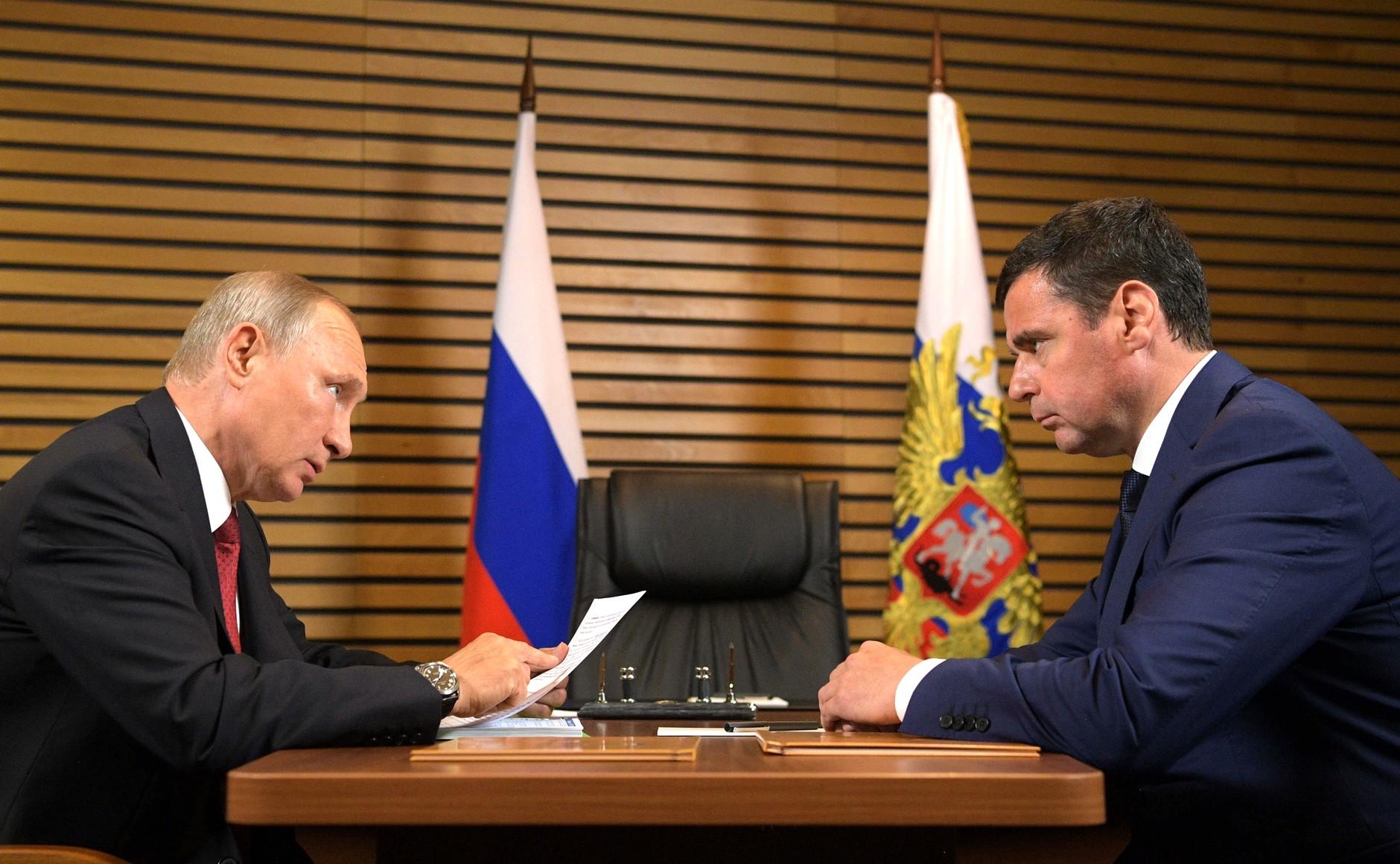 О чем глава региона Дмитрий Миронов говорил с Владимиром Путиным