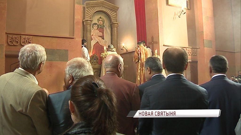 На Тутаевском шоссе свои двери распахнула первая в области армянская христианская церковь