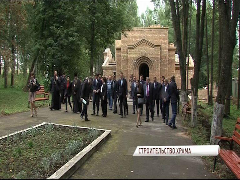 Первая служба в строящемся храме святителя Николая Чудотворца пройдет в июне