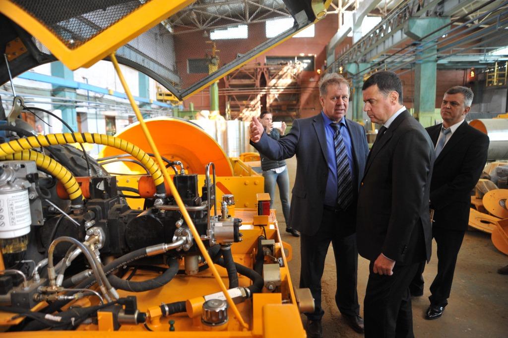 Глава региона Дмитрий Миронов: «Сегодня у рыбинского «Раската» есть все для стабильной работы»