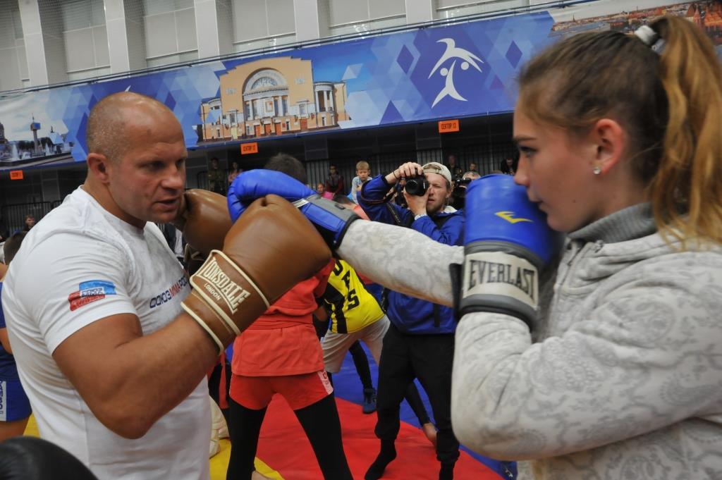 Федор Емельяненко провел мастер-класс для ярославских спортсменов